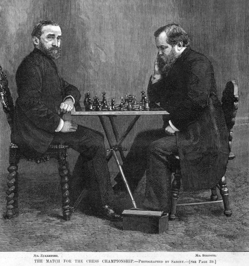 Wilhelm Steinitz contre Johannes Zukertort