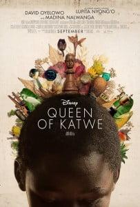 Affiche du film de Disney Queen of Katwe avec Lupita Nyong'o