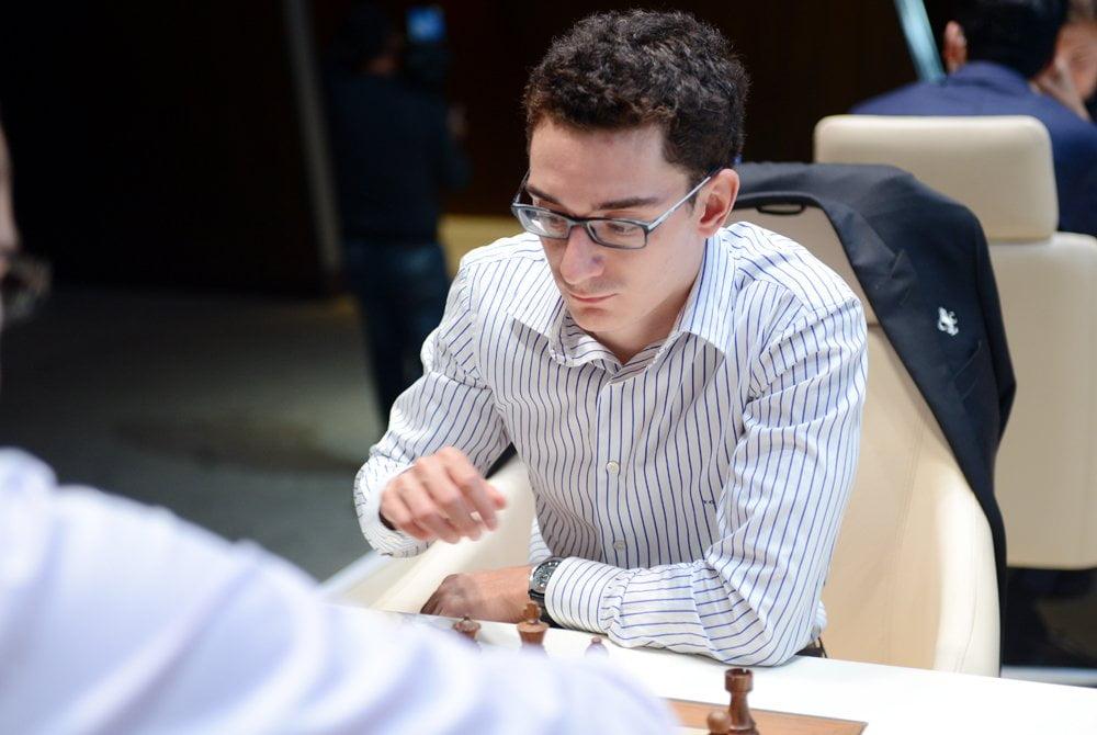 Shamkir Chess 2016 Ronde 2 Fabiano Caruana