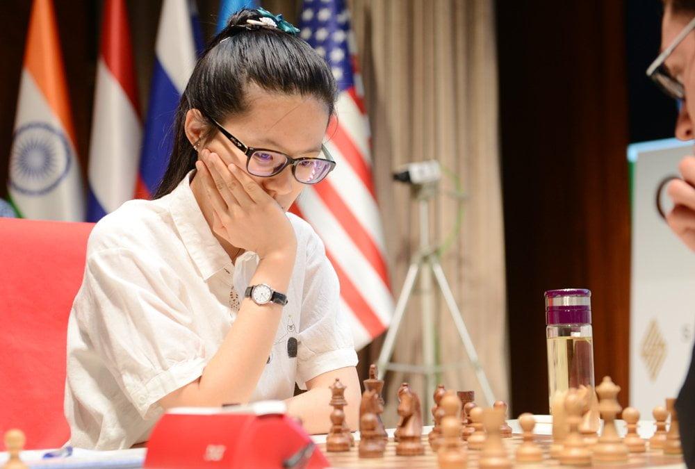 Shamkir Chess 2016 Ronde 3 Hou Yifan