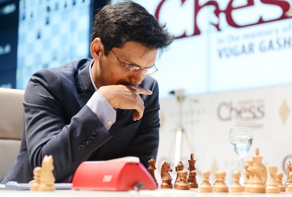 Shamkir Chess 2016 Ronde 3 Pentala Harikrishna