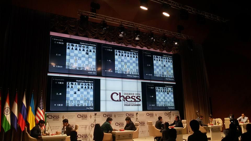 Shamkir Chess 2016 Ronde 4 Vue générale