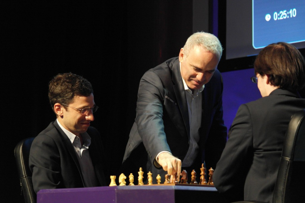 Paris Grand Chess Tour 2016 Rapide Garry Kasparov