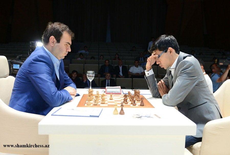 Shamkir chess 2016 ronde 9 Shakhriyar Mamedyarov et Anish Giri