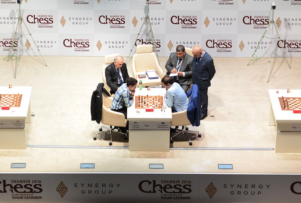 Shamkir Chess 2016 Tie break Fabiano Caruana Shakhriyar Mamedyarov
