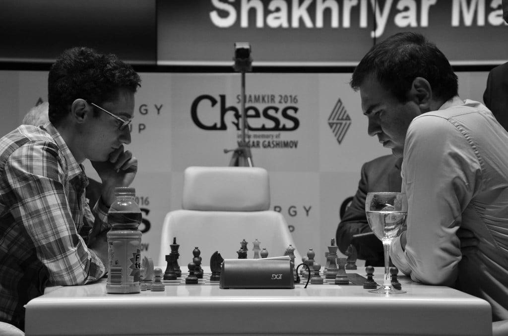 Shamkir Chess 2016 Tie break entre Fabiano Caruana et Shakhriyar Mamedyarov