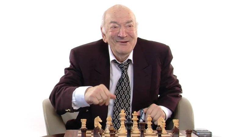 Viktor Kortchnoi en 2011