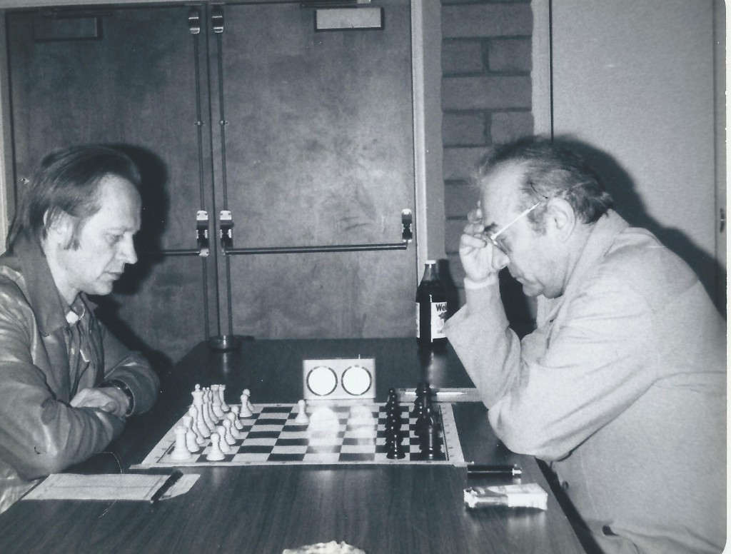 Viktor Kortchnoi contre Ivars Dahlbergs à Lone Pine en 1981