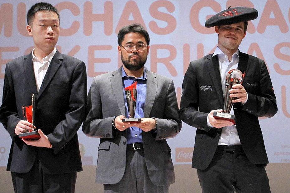 Bilbao Chess Masters 2016 Cérémonie de Clôture