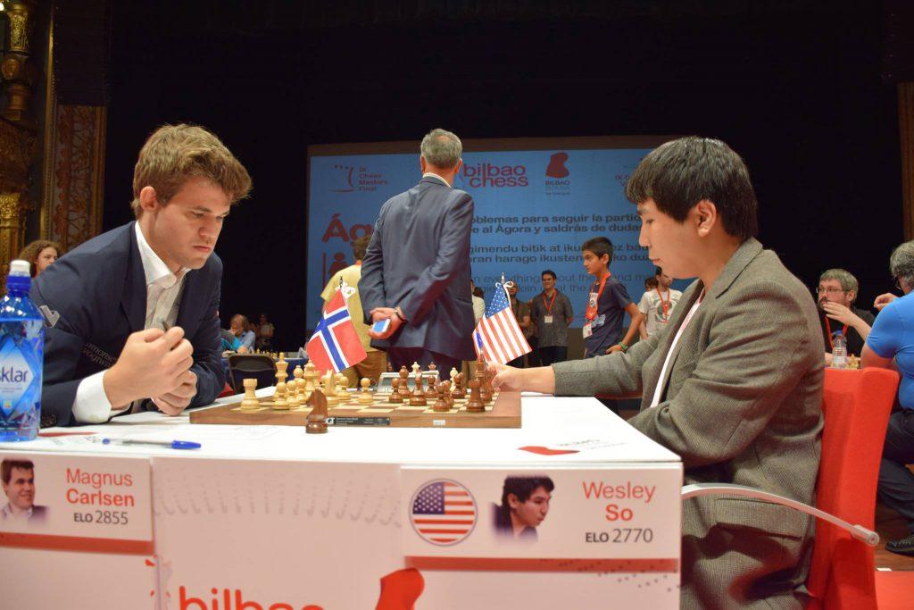 Bilbao Chess Masters 2016 Ronde 4 Magnus Carlsen domine Wesley So