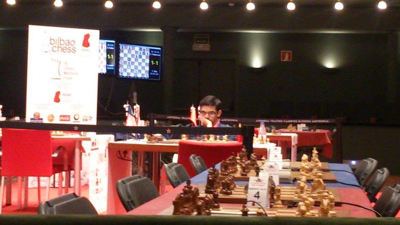Bilbao Chess Masters 2016 Ronde 8 Anish Giri