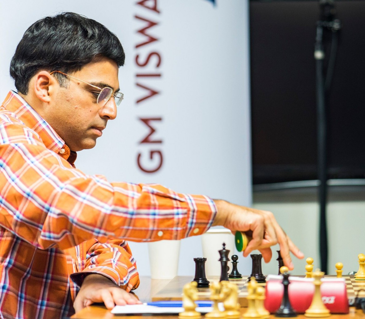 Sinquefield Cup 2016 Ronde 2 Viswanathan Anand