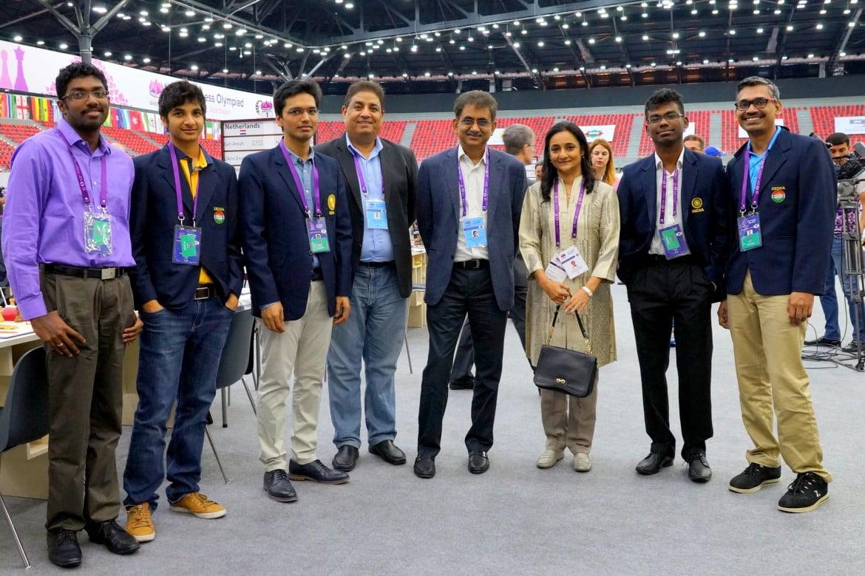 Olympiade d'échecs 2016 Ronde 6 équipe Inde