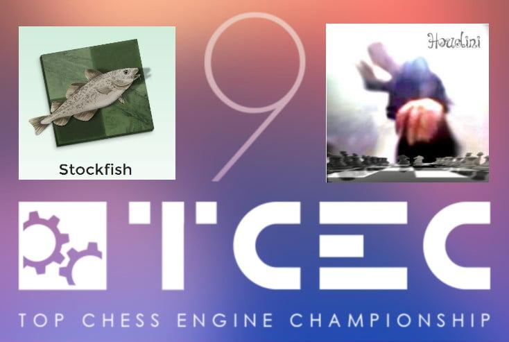 TCEC 9 Super Finale Stockfish Houdini