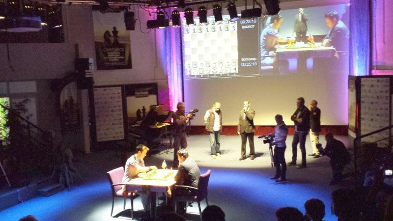 Trophée Anatoly Karpov Cap d'Agde 2016 Finale Bacrot Edouard
