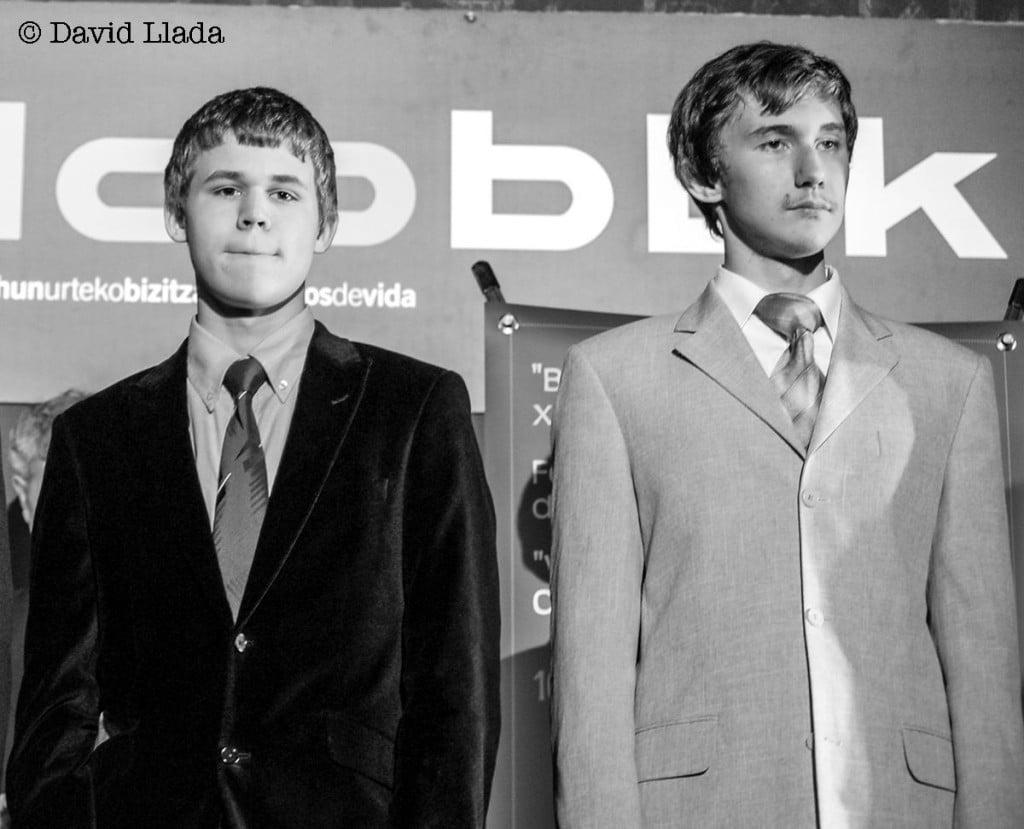 Magnus Carlsen et Sergey Karjakin jeunes rivaux