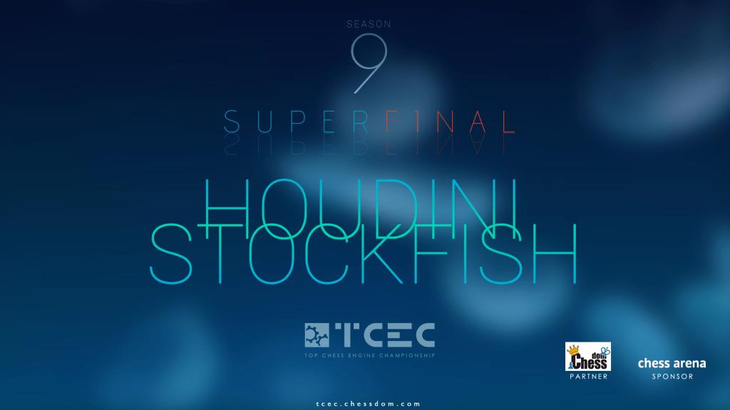 Stockfish 8 Houdini 5 Super Finale TCEC des moteurs d'échecs