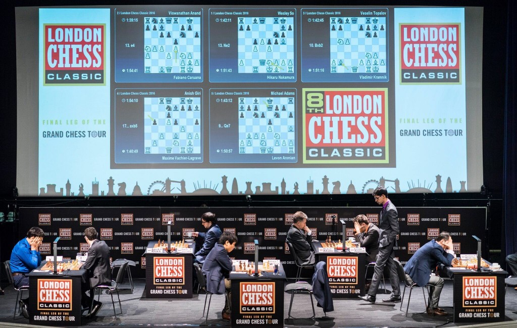 London Chess Classic 2016 Ronde 1