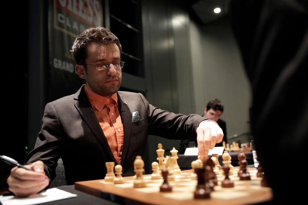 London Chess Classic 2016 ronde 1 Levon Aronian