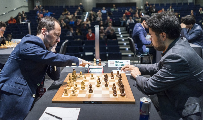 London Chess Classic 2016 ronde 4 Topalov Nakamura