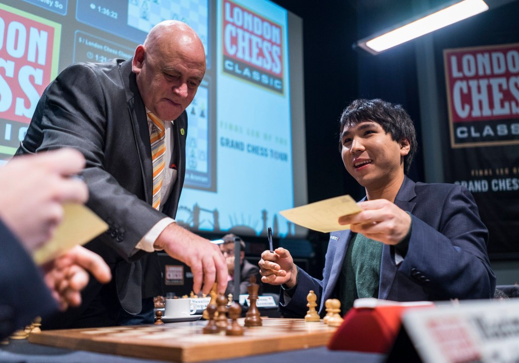 London Chess Classic 2016 ronde 9 Weley So