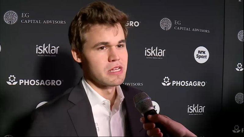 Magnus Carlsen Champion du Monde d'échecs 2016