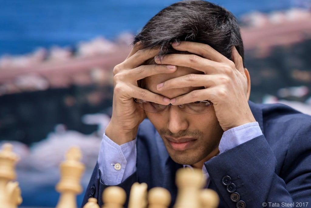 Tata Steel Chess Masters 2017 ronde 11 Pentala Harikrishna