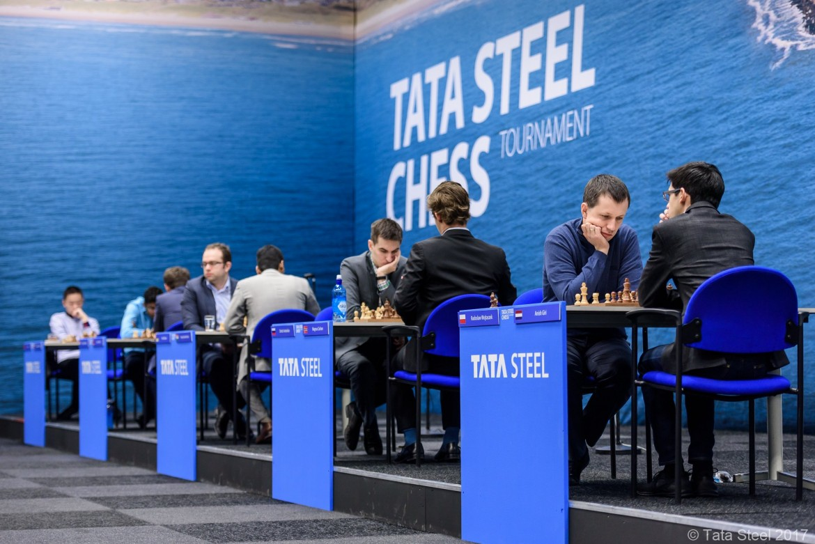 Tata Steel Chess Masters 2017 ronde 3