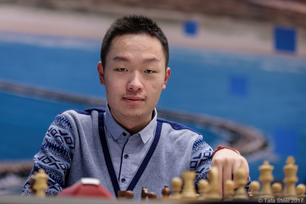 Tata Steel Chess Masters 2017 ronde 11 Yi Wei