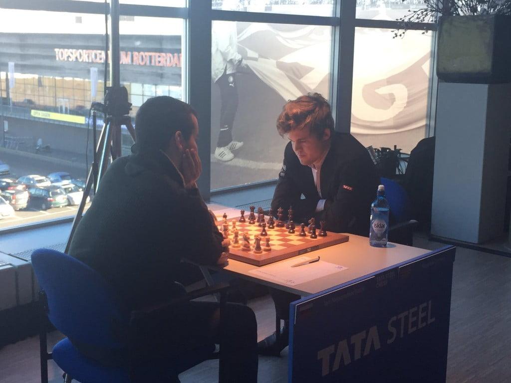 Tata Steel Chess Masters 2017 ronde 5 Magnus Carlsen