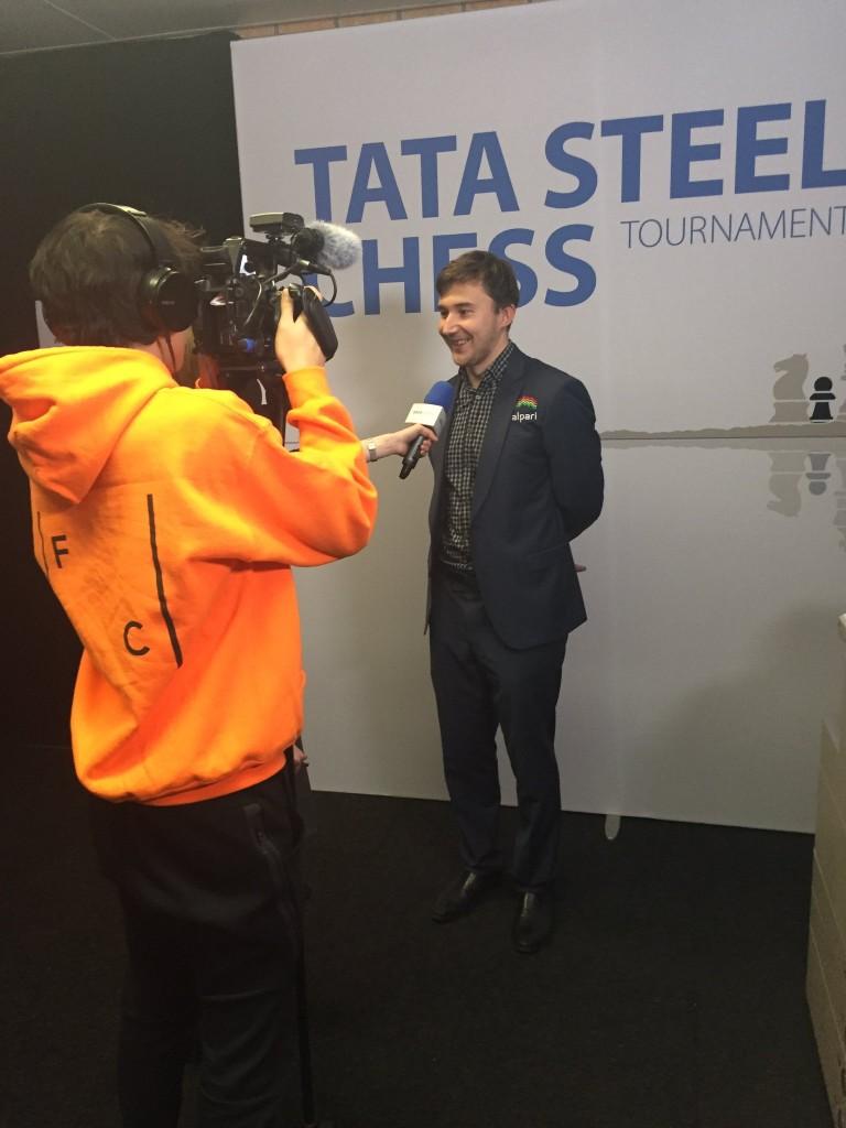 Tata Steel Chess Masters 2017 ronde 7 Sergey Karjakin