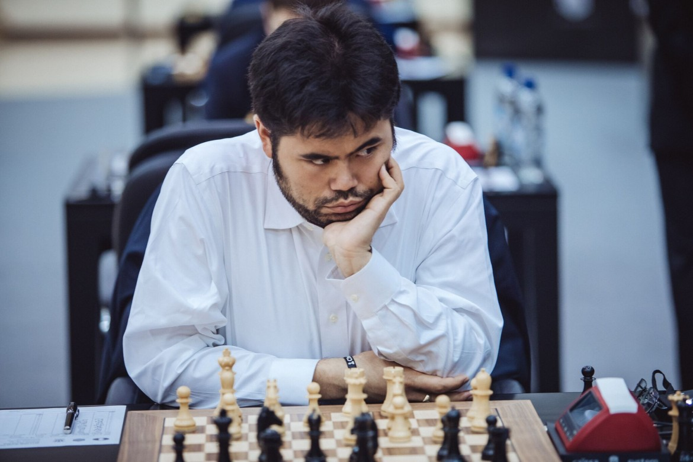 Grand Prix FIDE 2017 Sharjah ronde 3 Hikaru Nakamura