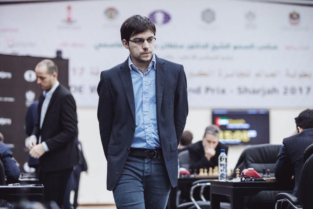 Grand Prix FIDE 2017 Sharjah ronde 4 Maxime Vachier-Lagrave
