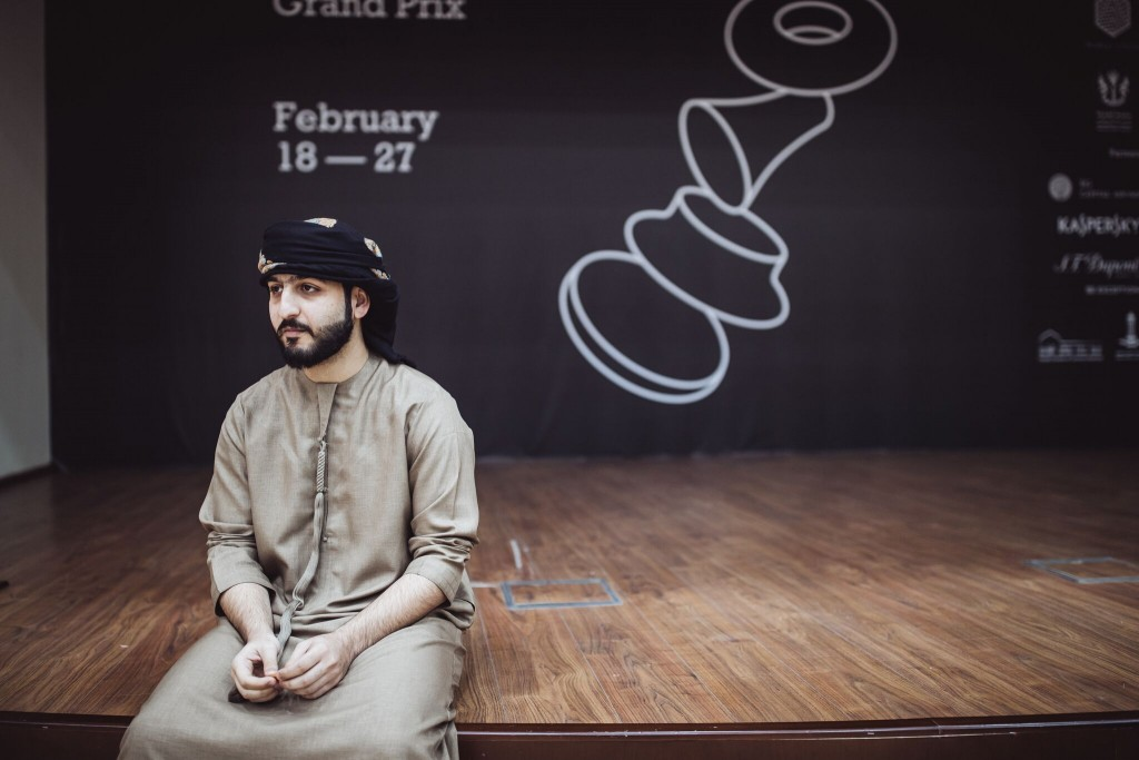 Grand Prix FIDE 2017 Sharjah ronde 4 Maxime Saleh Salem