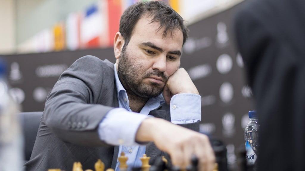 Grand Prix FIDE 2017 Sharjah rond 4 Shakhriyar Mamedyarov