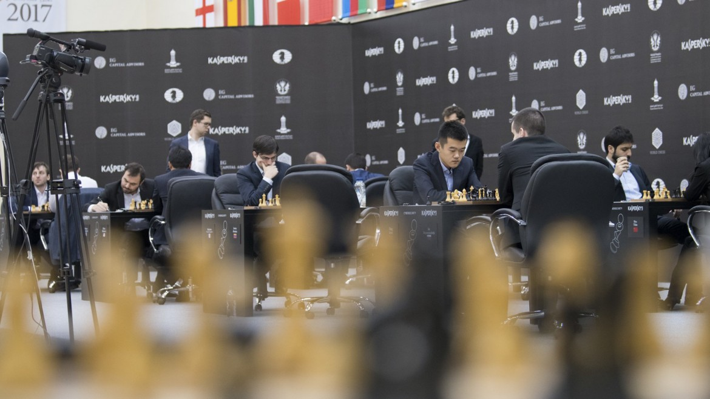Grand Prix FIDE 2017 Sharjah ronde 5
