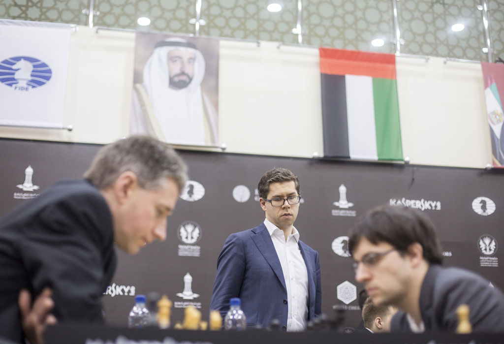 Grand Prix FIDE 2017 Sharjah ronde 6