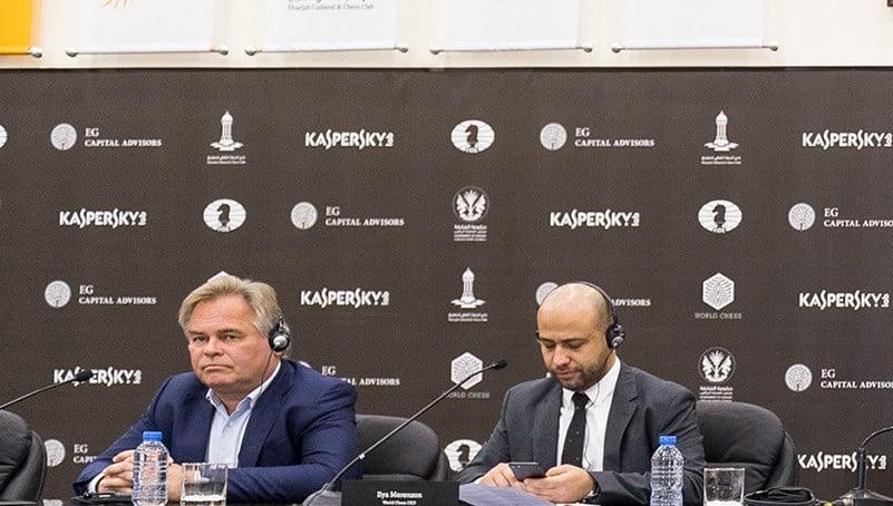 Programme participants Grand Prix FIDE 2017