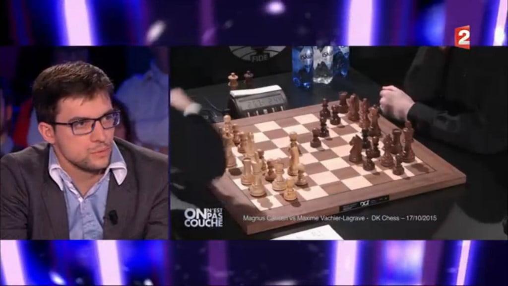 Maxime Vachier-Lagrave sur France 2 On n'est pas couché