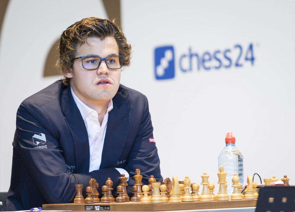 Grenke Chess Classic 2017 Magnus Carlsen nouveau look