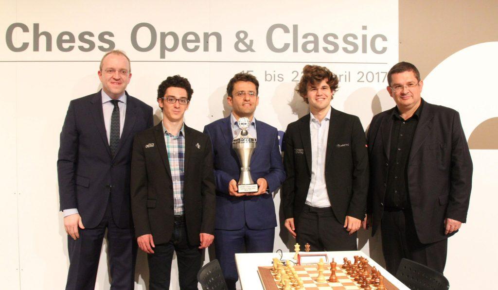 Grenke Chess Classic 2017 Remise prix à Levon Aronian