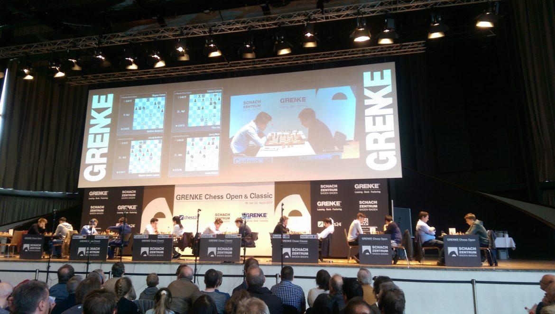 Grenke Chess Classic 2017 Ronde 1