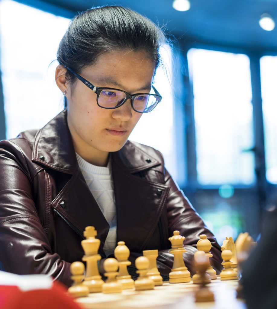 Grenke Chess Classic 2017 Ronde 1 Hou Yifan