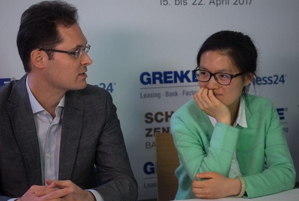 Grenke Chess Classic 2017 Ronde 2 Hou Yifan