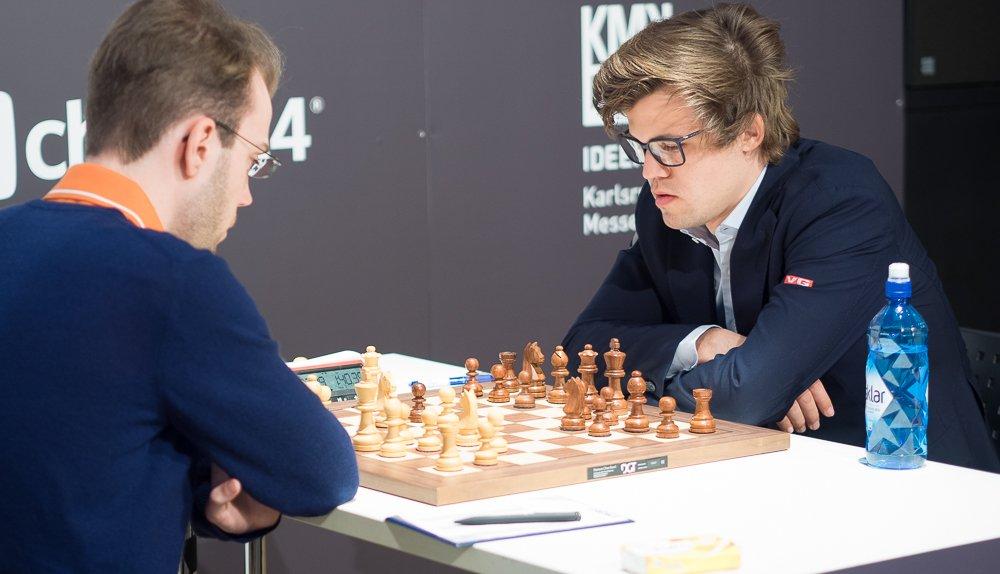 Grenke Chess Classic 2017 Ronde 5 Magnus Carlsen