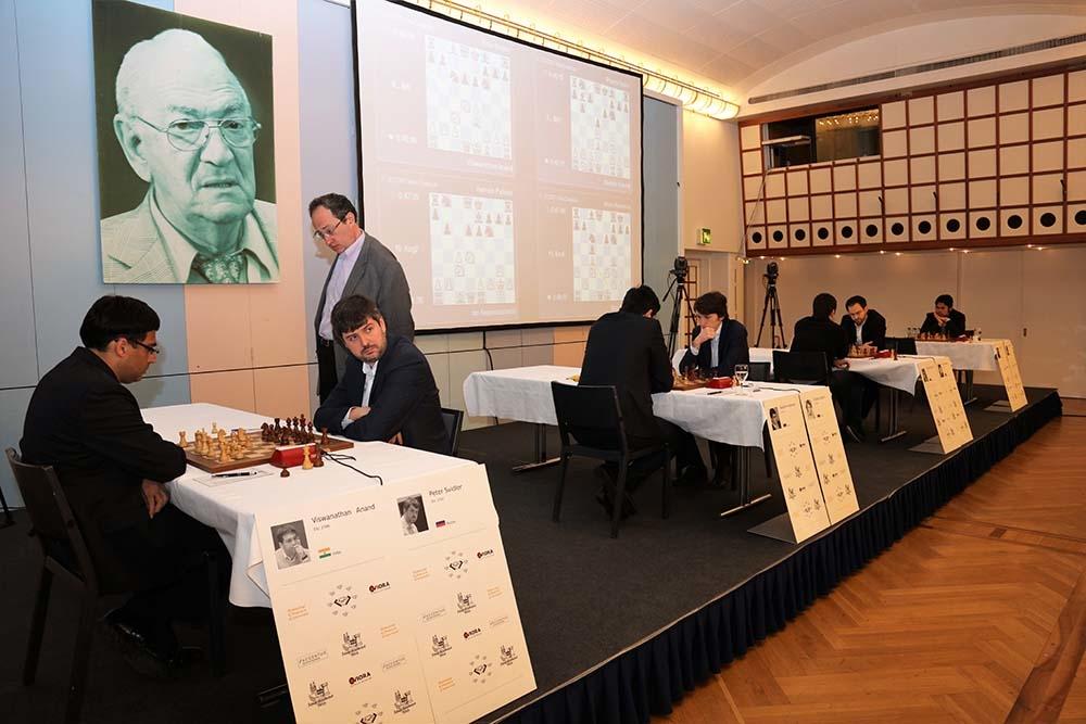 Kortchnoi Zurich Chess Challenge 2017 Vue de la salle