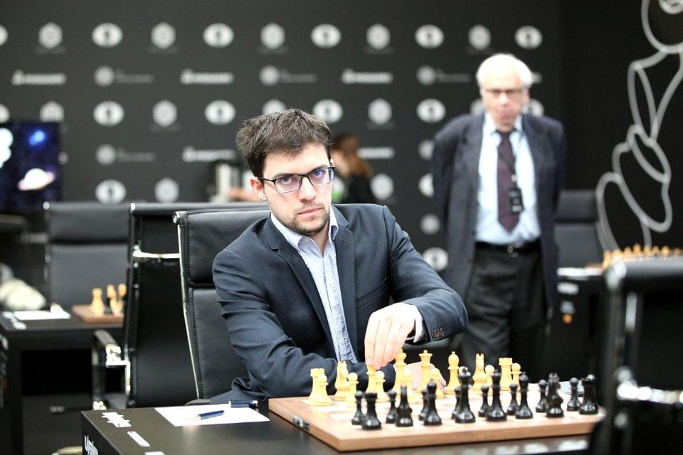Grand Prix FIDE 2017 Moscou Ronde 1 Maxime Vachier-Lagrave