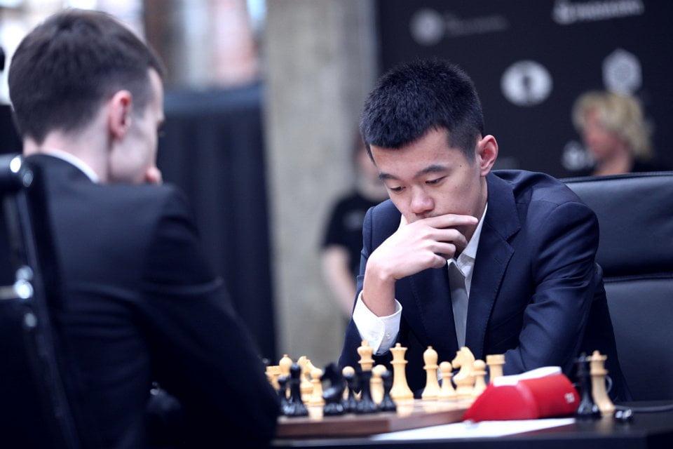 Grand Prix FIDE 2017 Moscou ronde 2 Liren Ding