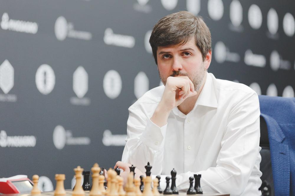 Grand Prix FIDE 2017 Moscou ronde 3 Peter Svidler