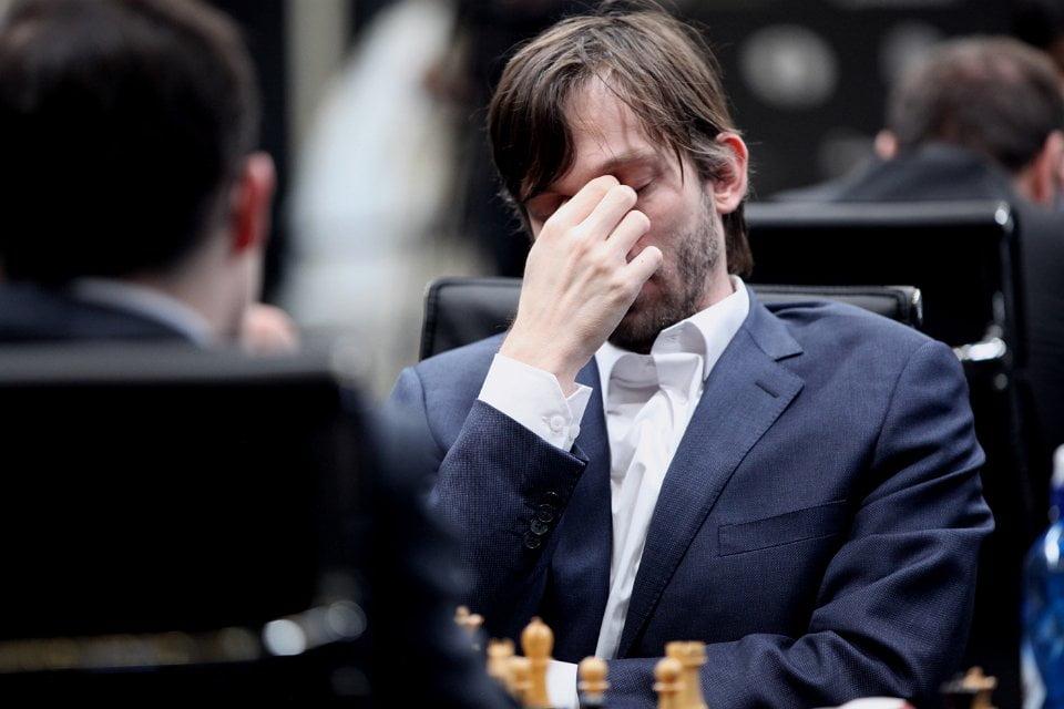 Grand Prix FIDE 2017 Moscou ronde 4 Alexander Grischuk